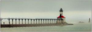 Class B Color - Michigan City Light by Bob Szerlong